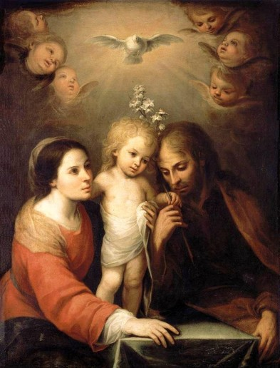 Holy Family by: Gutierrez